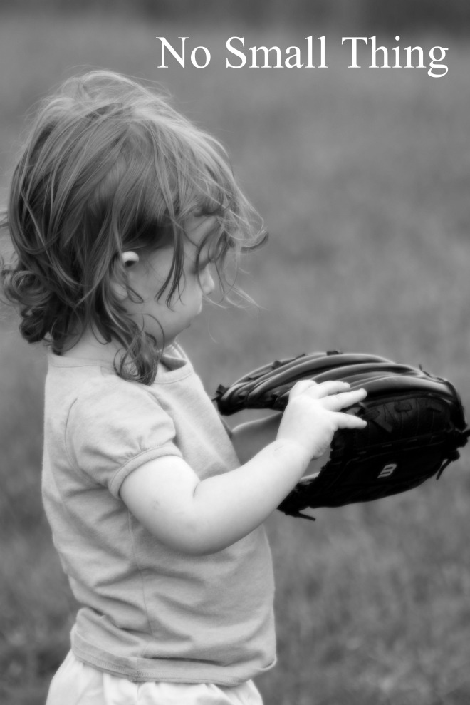 Ella with Baseball Glove NST