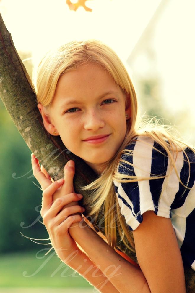 Kate in Tree NST